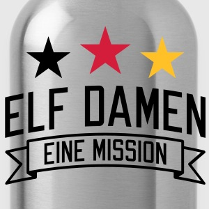 Elf Damen | eine Mission | em | EM T-Shirts - Water Bottle