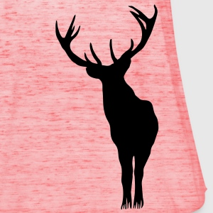Stag alone T-Shirts - Women's Tank Top by Bella
