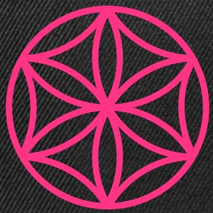 Flower of Aphrodite, c, Symbol of  love, beauty and transformation, Power Symbol, Talisman T-shirts - Snapbackkeps
