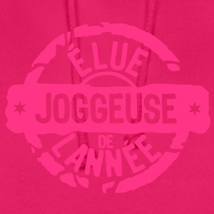 joggeuse elue annee meilleurs tampon Tee shirts - Sweat-shirt à capuche unisexe