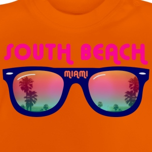 South Beach Miami Tee shirts Enfants - T-shirt Bébé