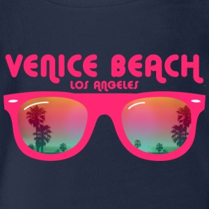 Venice Beach Los Angeles - Sonnenbrille Kinder T-Shirts - Baby Bio-Kurzarm-Body