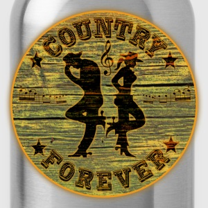 country forever T-Shirts - Water Bottle