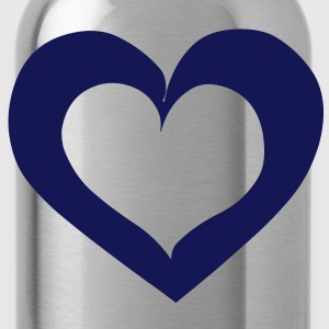 Heart Love T-Shirts - Water Bottle