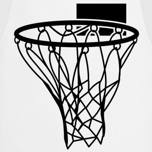 basketball netball hoop sports score T-Shirts - Cooking Apron