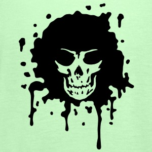 disco death skull T-shirt - Top da donna della marca Bella