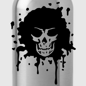 disco death skull T-Shirts - Water Bottle