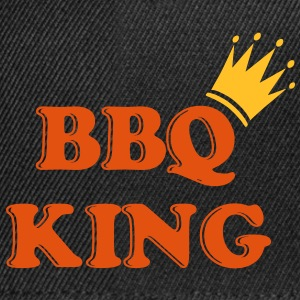 bbq_king_crown_2 Tee shirts - Casquette snapback