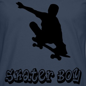 skater boy graffiti style Tee shirts - T-shirt manches longues Premium Homme