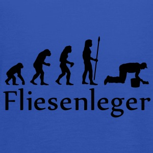 evolution_fliesenleger T-Shirts - Frauen Tank Top von Bella