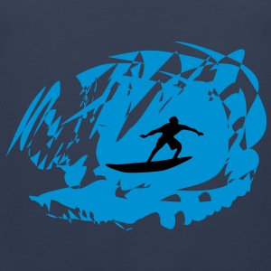 Surfer, Surfing T-Shirts - Men's Premium Tank Top