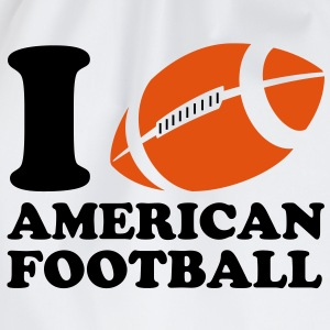 I Love American Football T-shirts - Gymnastikpåse