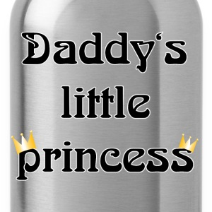 daddys little princess T-Shirts - Water Bottle
