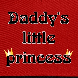 daddys little princess T-Shirts - Snapback Cap