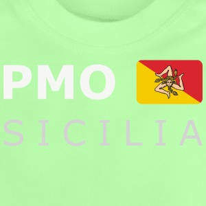 Teenager T-Shirt PMO SICILIA white-lettered - Baby T-shirt