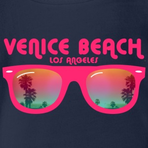 Venice Beach Los Angeles Kids' Shirts - Organic Short-sleeved Baby Bodysuit