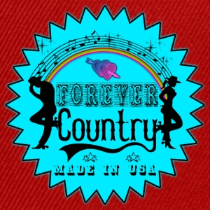 forever country music Tee shirts - Casquette snapback