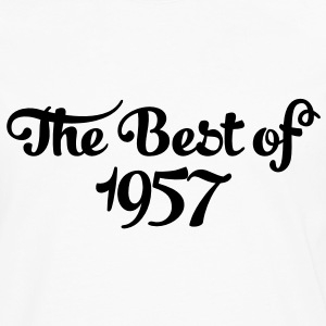 Geburtstag - Birthday - the best of 1957 (nl) T-shirts - Mannen Premium shirt met lange mouwen