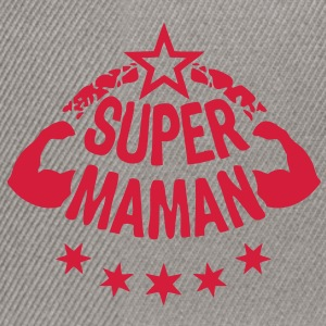 super maman bras muscle stars1 Tee shirts - Casquette snapback