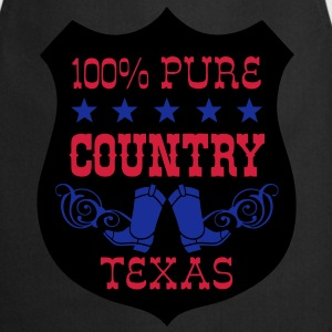 100% pure country texas  Tee shirts - Tablier de cuisine