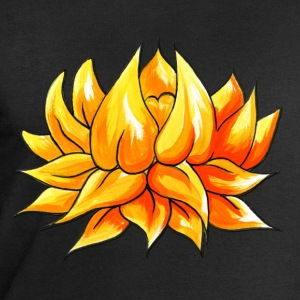 Tattoo design Lotus Flower Watercolour - Men's Sweatshirt by Stanley & Stella