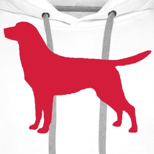 Labrador Retriever T-Shirts - Men's Premium Hoodie