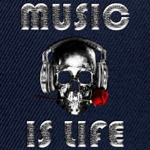 Music is life  - Snapback Cap