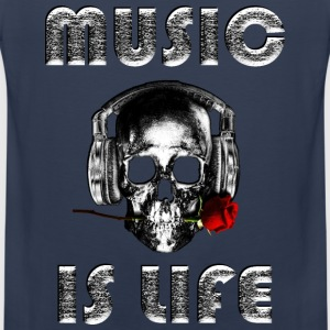 Music is life  - Men's Premium Tank Top