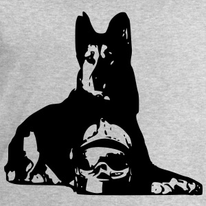 firefighter dog T-Shirts - Men's Sweatshirt by Stanley & Stella