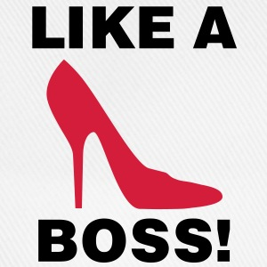 Like a Boss | Shoe | Schuh T-Shirts - Cappello con visiera