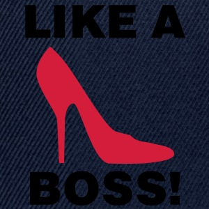 Like a Boss | Shoe | Schuh T-Shirts - Snapback cap