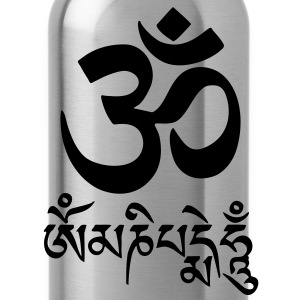 om mani padme hum , Ohm mantra T-Shirts - Water Bottle