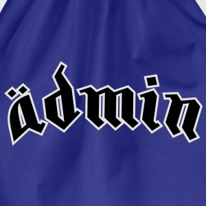 Ädmin (plain) T-Shirts - Drawstring Bag