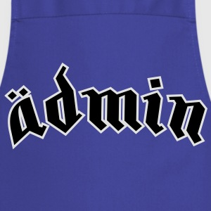 Ädmin (plain) T-Shirts - Cooking Apron