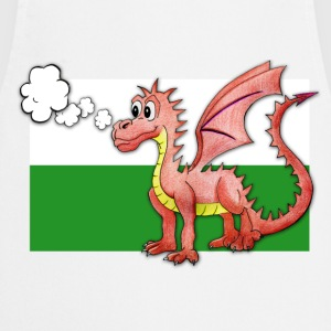 Puffing Welsh dragon - Wales - Cooking Apron