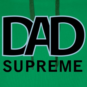 SUPREME DAD T-Shirt YG - Premium hettegenser for menn