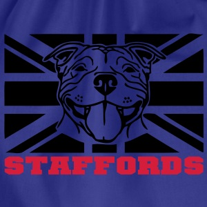 staffords smileflag3 Kids' Shirts - Drawstring Bag