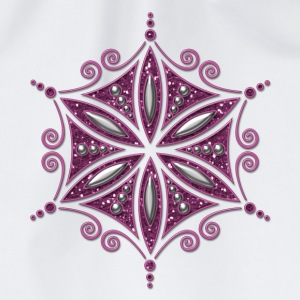 Flower of Aphrodite, glitter, Symbol of  love, beauty and transformation, Power Symbol, Talisman T-shirts - Gymtas