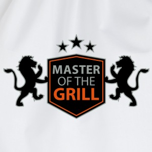 master of the grill T-Shirts - Drawstring Bag