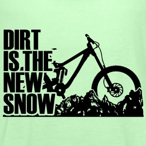 dirt is the new snow T-Shirts - Women's Tank Top by Bella