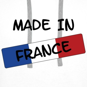 Made in FRANCE ! Tee shirts - Sweat-shirt à capuche Premium pour hommes