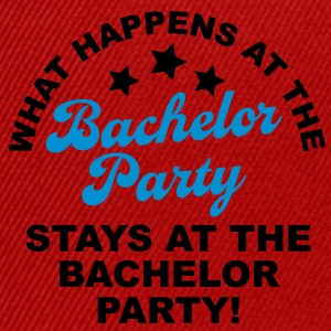 Bachelor Party T-Shirts - Snapback Cap