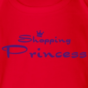 Shopping Princess Kinder T-Shirts - Baby Bio-Kurzarm-Body
