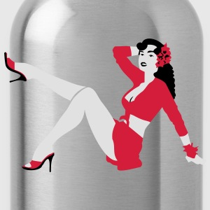 Pin-up T-Shirts - Water Bottle