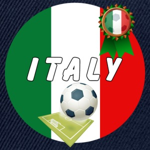 Italy Football Team pitch ball & Rosette - Snapback Cap