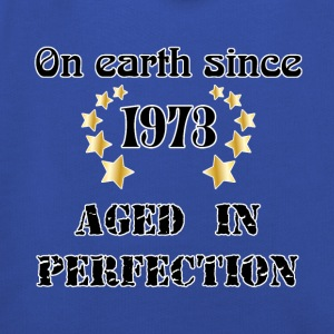 on earth since 1973 T-Shirts - Kids' Premium Hoodie