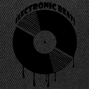 Marrone electronic_beats T-shirt - Snapback Cap