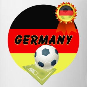 Germany Football Team supporter pitch & Rosette - Mug