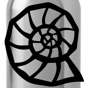 Nautilus Ammonit Fossil T-Shirts - Trinkflasche