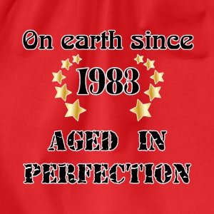 on earth since 1983 Tee shirts - Sac de sport léger